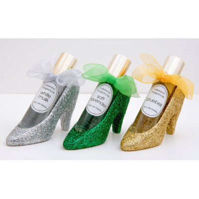 Glitter Shoe with Bow